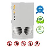 GADINO Ultrasonic Pest Repellent - Electronic Pest Control - Best Indoor Ultrasonic Pest Repeller - Mice, Bugs, Ants, Insects and Cockroaches Repellent - Ultrasonic Pest Reject 2019