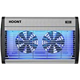 Hoont Bug Zapper Powerful Indoor Electric Fly Zapper Trap 40 Watts, Protects 6,500 Sq. Ft. Fly Killer, Insect Killer, Mosquito Killer For Residential, Commercial and Industrial Use [UPGRADED]