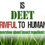 Is DEET harmful to humans?