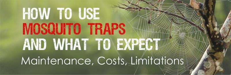 mosquito trap maintenance needed