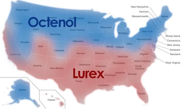 Mosquito Traps Octenol vs Lurex